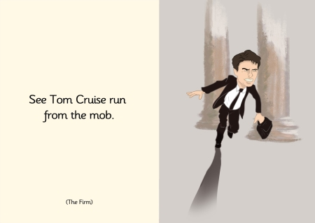See Tom Cruise run from the mob