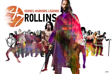 47 Rollins - 47 Ronin with Henry Rollins and Keanu Reeves